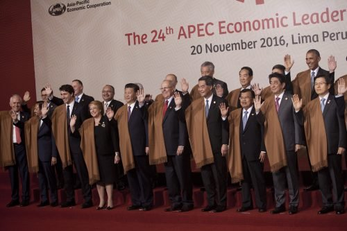 some of the APEC leaders
