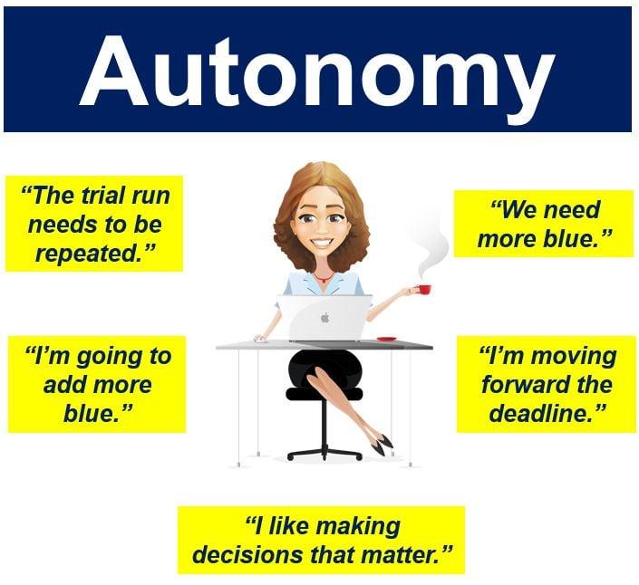 Autonomy in Job Characteristics Theory