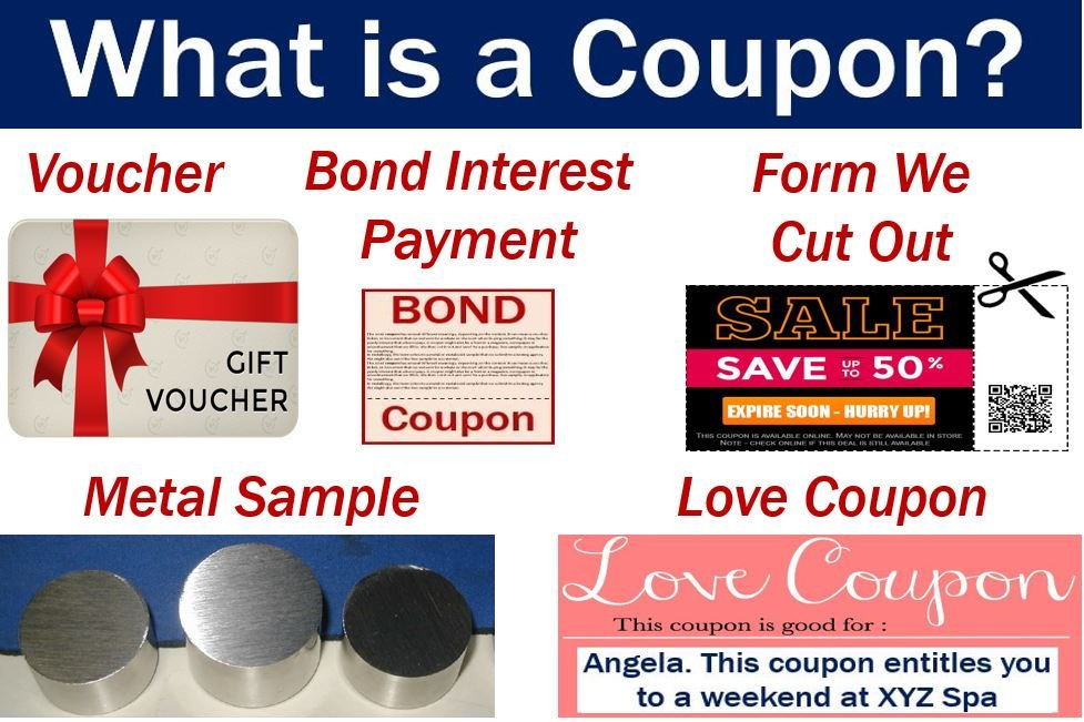 coupon definition and meaning market business news