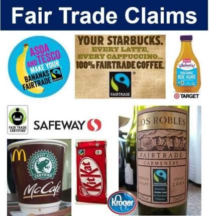 Fair trade claims