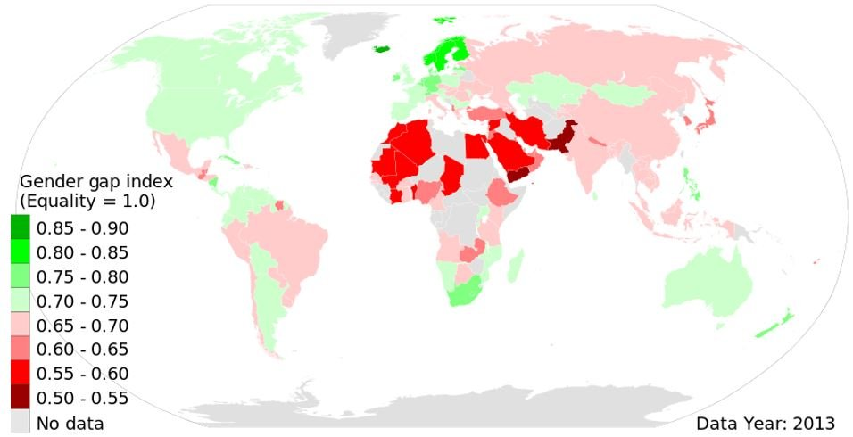 Gender Gap Inequality
