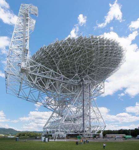 Green Bank Telescope Virginia