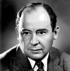 John von Neumann - game theory