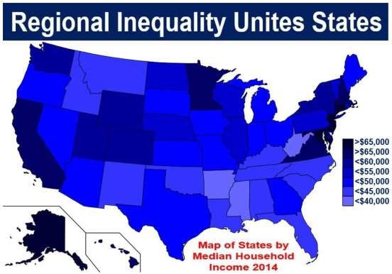 Regional Inequality United States