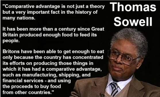 Thomas Sowell Comparative Advantage