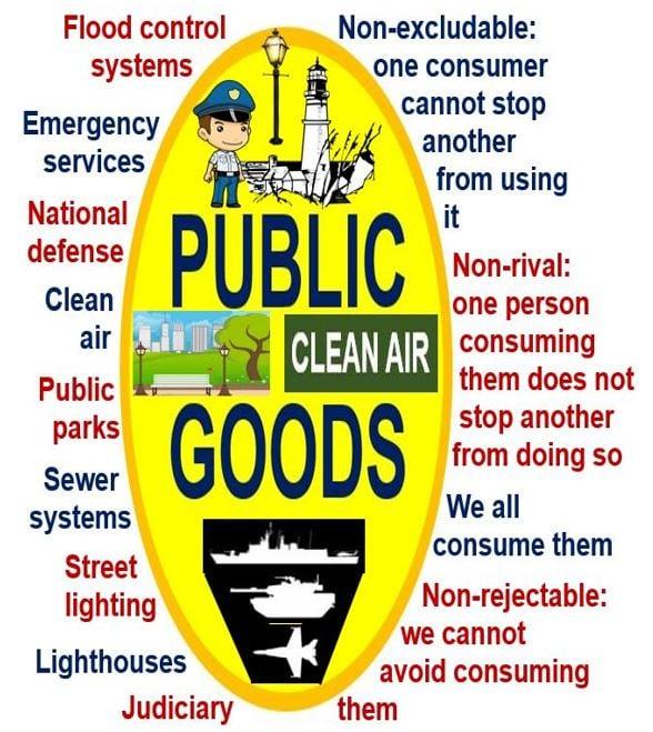 public definition A good