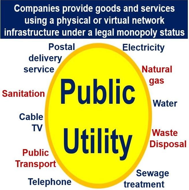 What is a public utility? Definition and meaning - Market