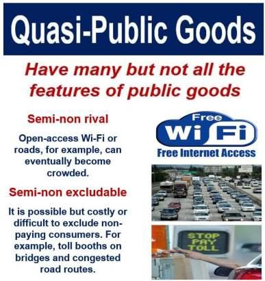 Quasi-Public Goods