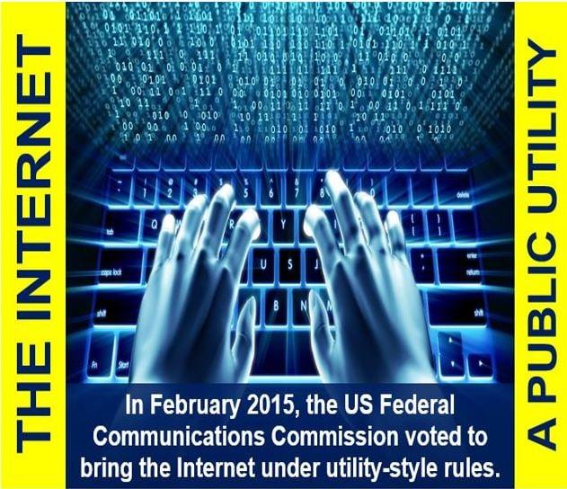 The Internet - A public utility