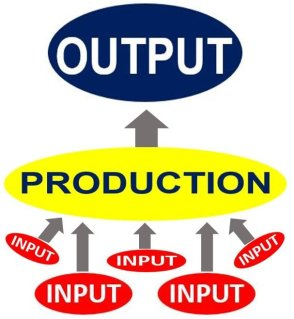 Input - Production - Output