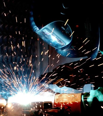 manufacturing welder