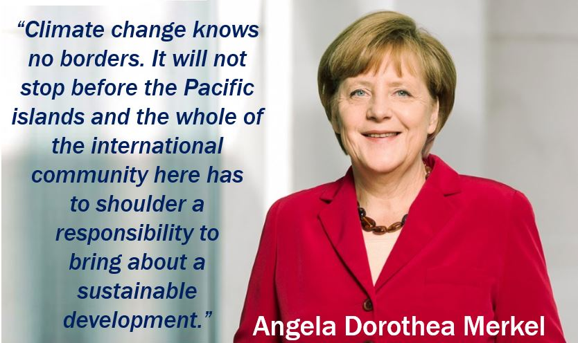 Angela Merkel - Sustainable Quote