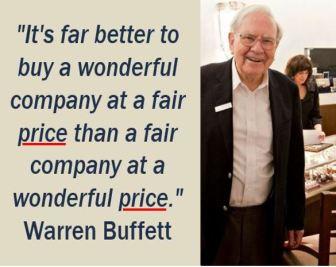Warren Buffett - Price quote