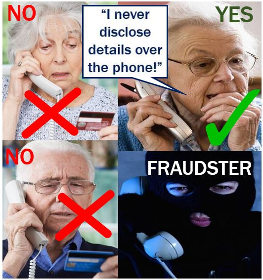 Fraudsters trying to con people