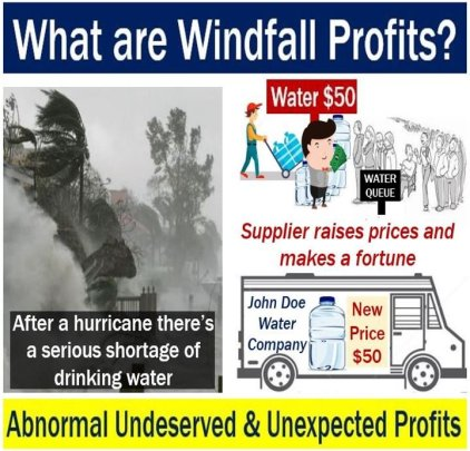 Hurricane Windfall Profits