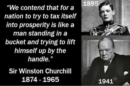 Winston Churchill - Tax Quote