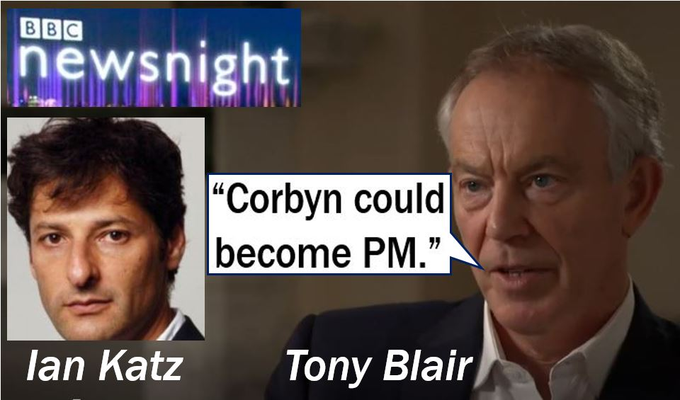 Blair Says that Jeremy Corbyn could become PM