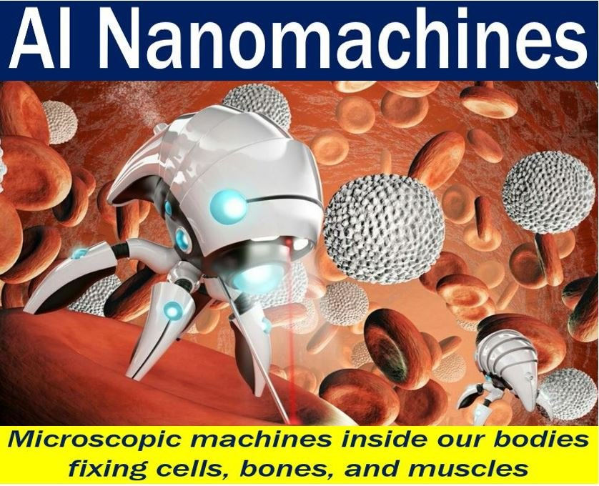 ai nanomachines will repair our insides one day market business news