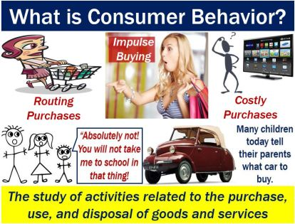 Consumer behavior - definition and some examples