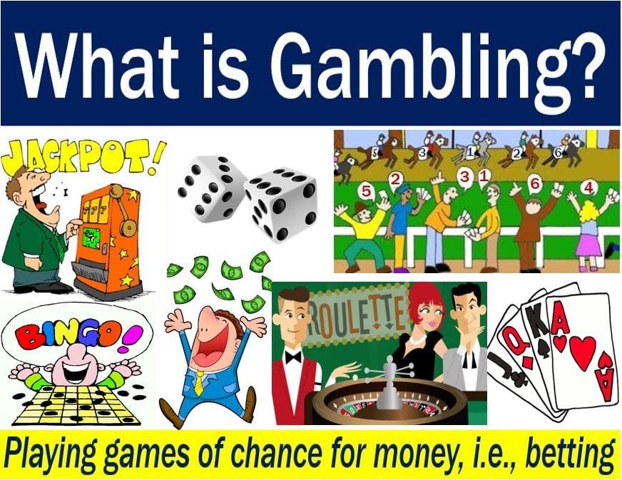 Gamble definition meetup poker london