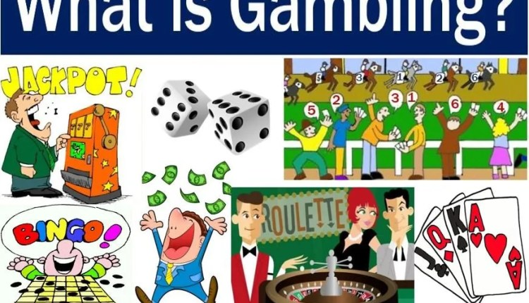 Gambling - image explaining meaning and examples