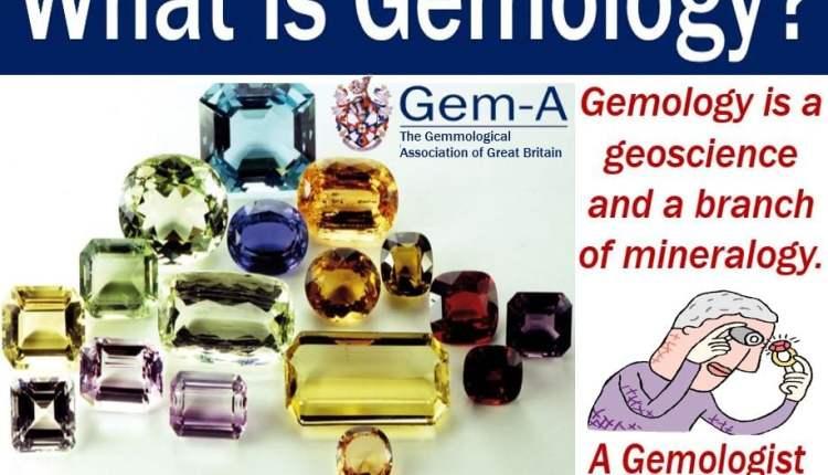 Gemology - definition and illustration