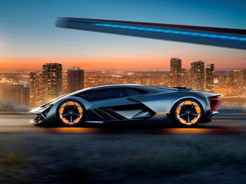 hypercar by MIT and Lamborghini