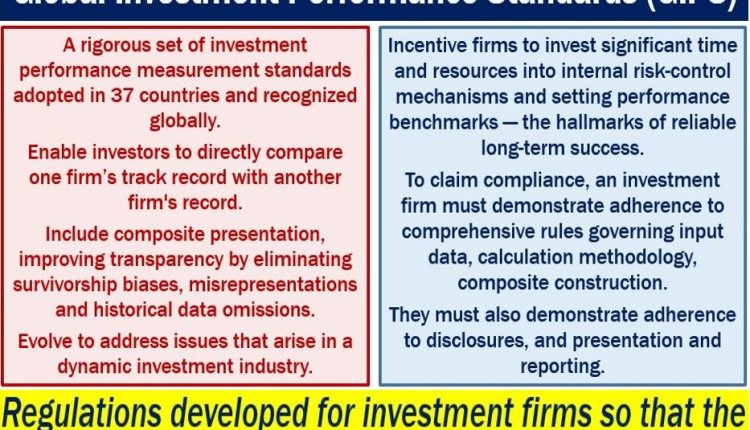 Global Investment Performance Standard GIPS - definition and features
