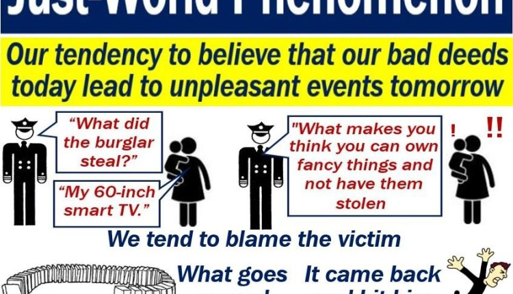 Just-world phenomenon - definition and examples