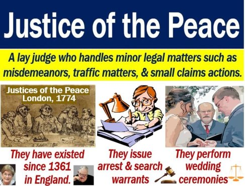 Justice of the Peace - definition and duties