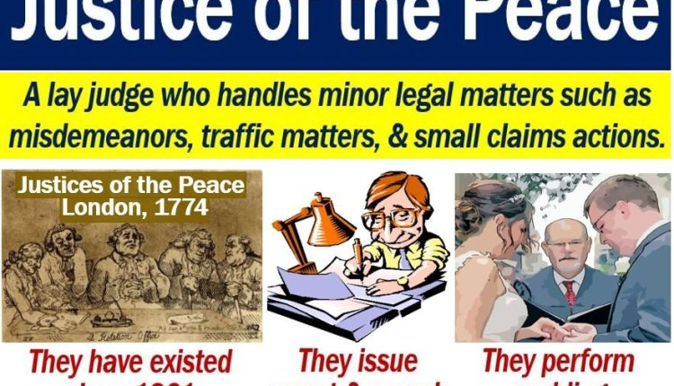 Justice of the Peace – definition and duties