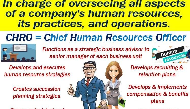 Chief Human Resources Officer - CHRO