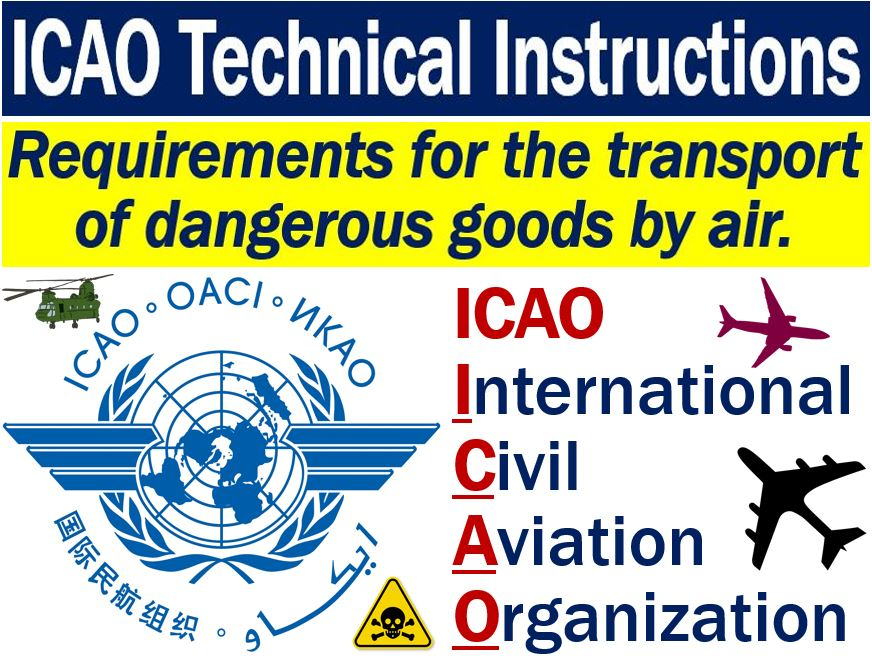 Icao Technical Instructions Definition And Example