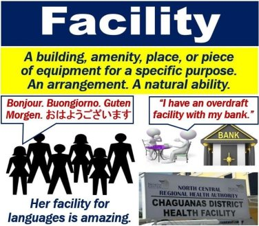 What is a facility? Definition and examples - Market