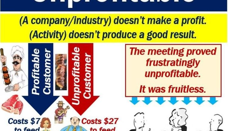 Unprofitable - definition and examples