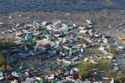 floating garbage of plastic bottles pixabay 87342