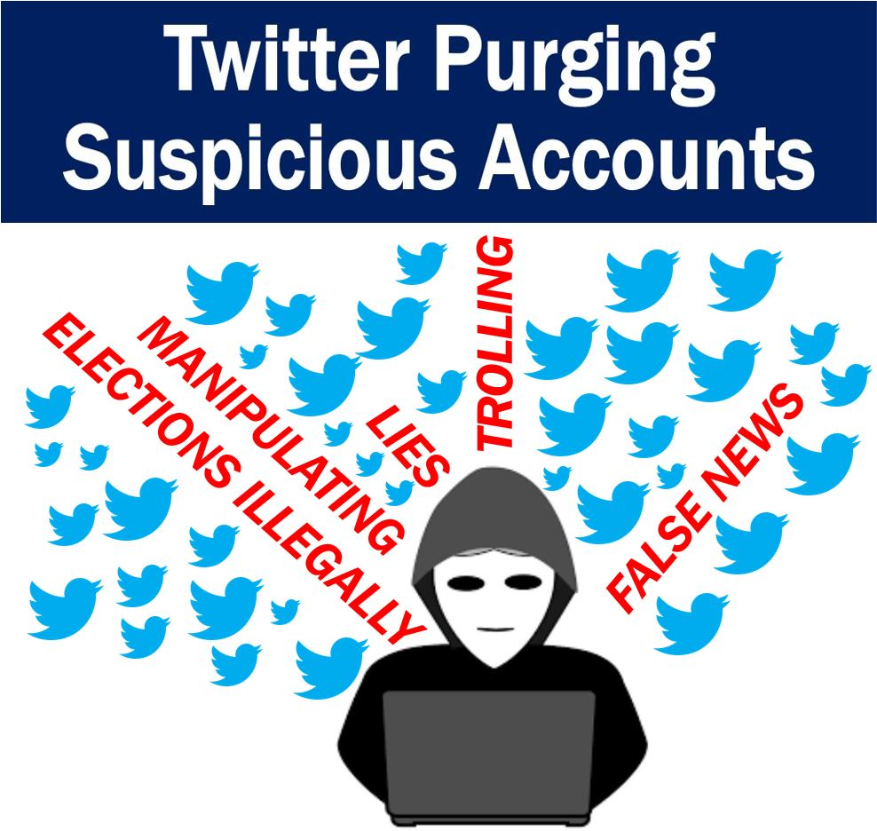 Twitter purging suspicious accounts