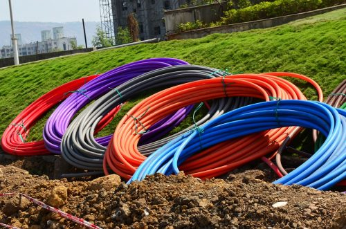 fibre-optic cable coils ready to lay pixabay-166802