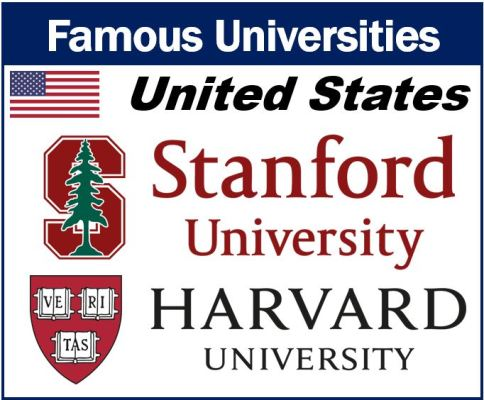 Famous universities United States