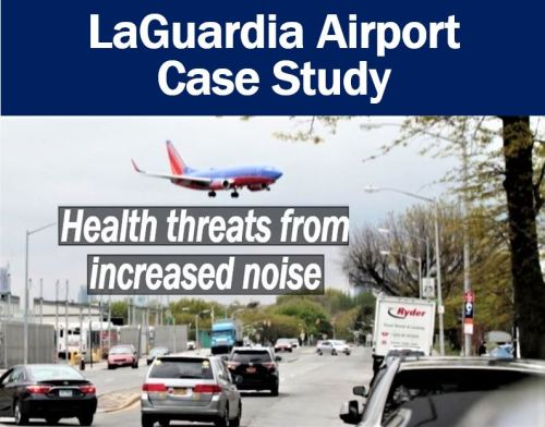 Optimizing airport flight patterns take a toll on human health