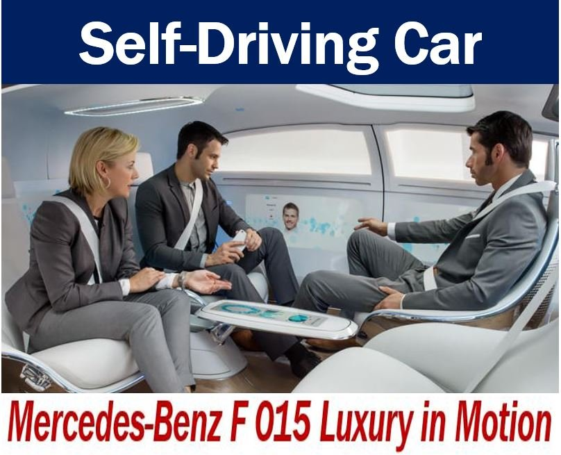 Self-Driving Car - Mercedes-Benz F 015 Luxury in Motion