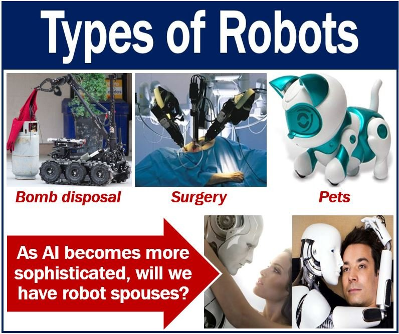 Types of robots
