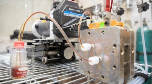 Methuselah flow battery in lab