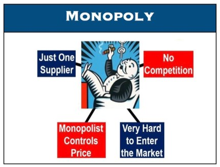 monopoly market structure examples