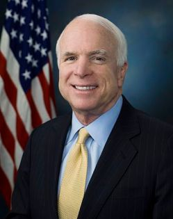 John McCain's official Senate portrait