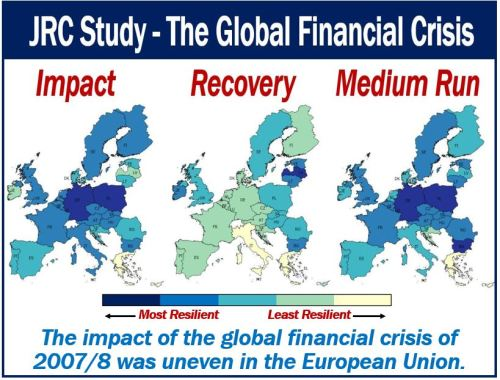 JRC Study - Global Financial Crisis uneven impact