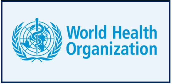 World health organization or WHO - logo
