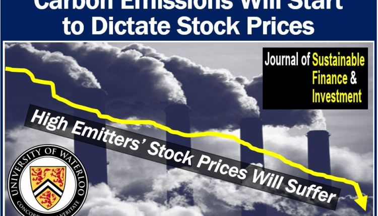 Carbon emissions and stock prices