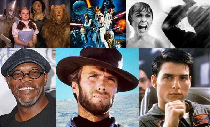 Most influential actors and movies ever