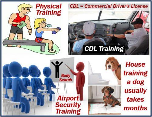 Training - examples